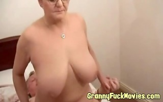 excited older pair pounding