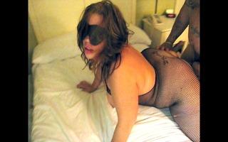 blindfolded hotwife bonks a stranger