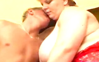 large billibongs babe receives blow job and titty