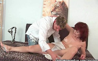 can not i cum on your face granny?