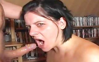 extraordinary deepthroat7 gag by german wife!!!!!