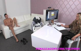 femaleagent cameras affect men confidence in