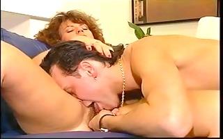 vintage porn movie ends with hawt steamy facial
