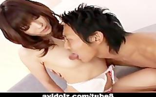 nasty arisa suzuki fur pie licking