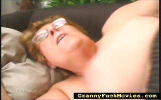 granny rolled over to acquire screwed