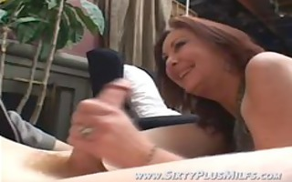 non-professional teen wang sucked by gilf