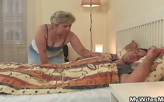 i just discovered my mom riding his cock