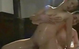 oily oriental mother i massage sex with facial