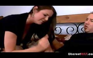 mommy catching sons ally jerk off