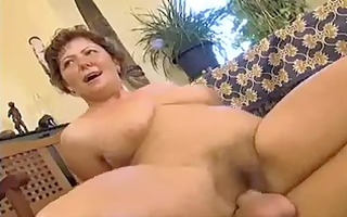 plump mamma with curly cunt