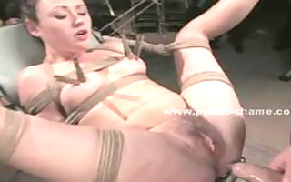 doxy under enormous slapping and fucking in