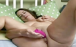 mature hottie wakes up excited
