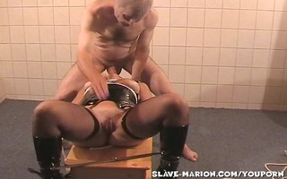 villein wife marion dominated by lads