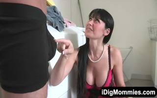 stepmom eva karera seduces younger dude then
