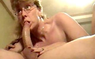 hawt aged wife engulfing ramrod