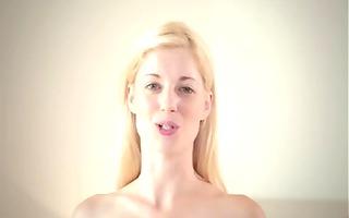 blond lesbians triple threat