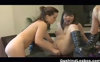 lesbian chick acquires screwed with a glass part1