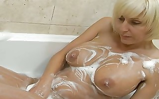 playful golden-haired d like to fuck with large