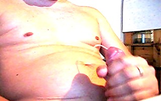 milking my firm cock