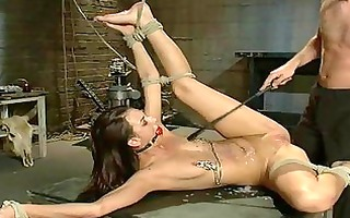 hawt nice-looking girl dominated and screwed