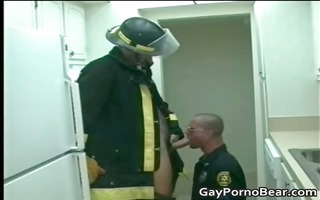 uniformed homo men have a lot of enjoyment part4