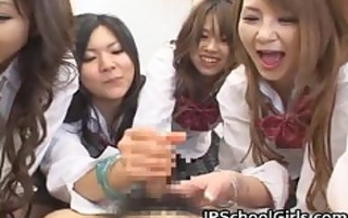 oriental schoolgirls are having a giant part11