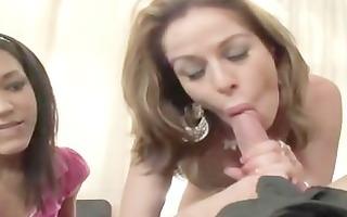 step mommy teaches shlong engulfing to her