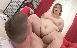 big grandma large gorgeous woman shaggy kiki