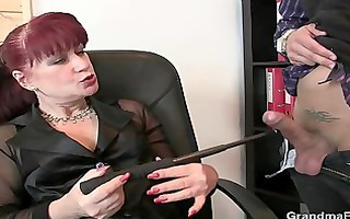 fortunate studs team fuck business lady