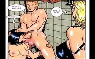 massive breast large round wazoo comic