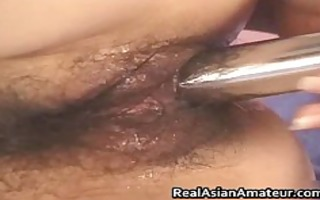 glamorous oriental playgirl drilling her part3