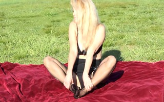 stocking legs and feet rht mother i