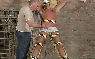 homosexual porn blindfolded, gagged, tortured and