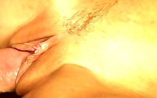 blond with a hairless vagina in a oral