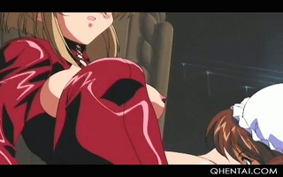 cute manga sex serf playing with her wet crack in