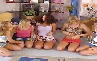 lesbo birthday party cuties receive wicked