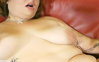 3 breasty bbw lesbos take up with the tongue