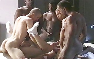 seven sexually excited hawt dark gays in heat