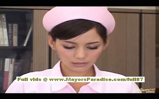 rio asian model does orall-service and receives a