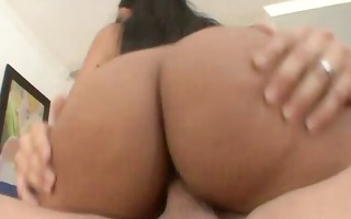 hot oriental model rides penis and sucks for this