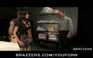 sexy big-tit concupiscent pornstars fuck their