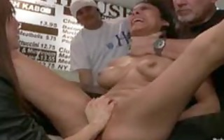 gal drilled in a diner