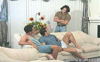 buffed homosexual hawt some