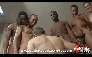 homo sex cream shower
