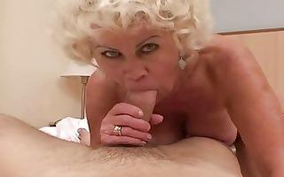 lustful granny in hard pov act