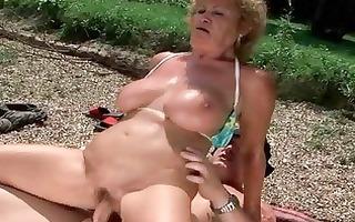 lusty grannies comilation