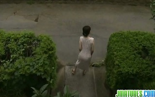 hawt japanese aged lady receives fucked by her