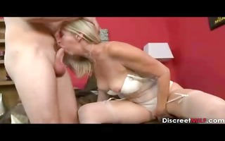 pretty blond older fucks younger boy