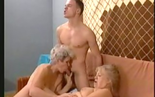 3 grannies, 2 cub!
