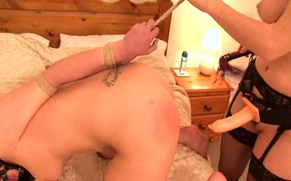 lesbo female-dominator has a bad day